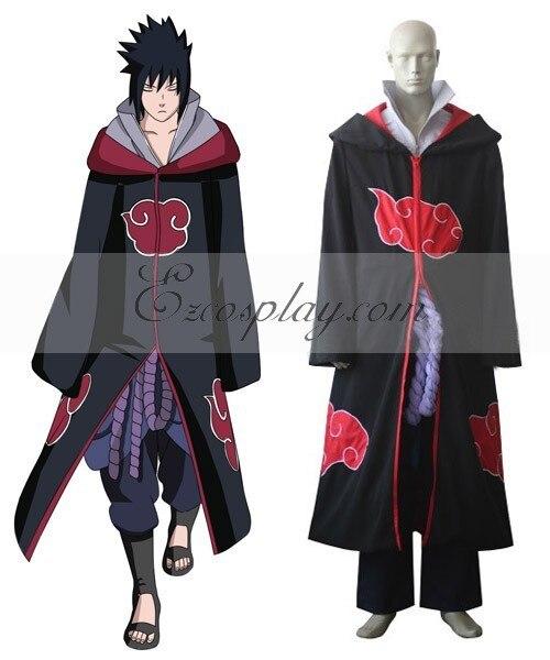 Naruto Shippuuden Team Taka Hawk Sasuke Uchiha Cosplay Costume E001