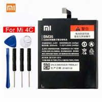 Batterie de téléphone d'origine Xiao mi 4C pour Xiao mi 4C mi 4c téléphone 3080 mAh