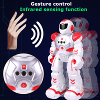 Remote Control Robot Toy Smart Child RC Robot With Sing Dance Action Figure Toys Intelligent Programming Robot For Boys Children