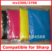 High quality color toner powder compatible for Sharp mx2300/2700 Free shipping