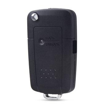 chiave telecomando per Kia Rio Picanto Carens Remote Key Shell Case Cover 1 Side Button Flip Folding Car Key Left 1