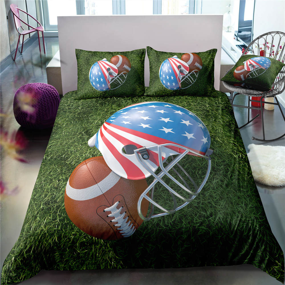 3D Boys Cool Baseball Sports Bed Linen Set Bedclothes Soft Quilt Comforter Cover Adults Children Twin Bedding Duvet Cover Set3D Boys Cool Baseball Sports Bed Linen Set Bedclothes Soft Quilt Comforter Cover Adults Children Twin Bedding Duvet Cover Set