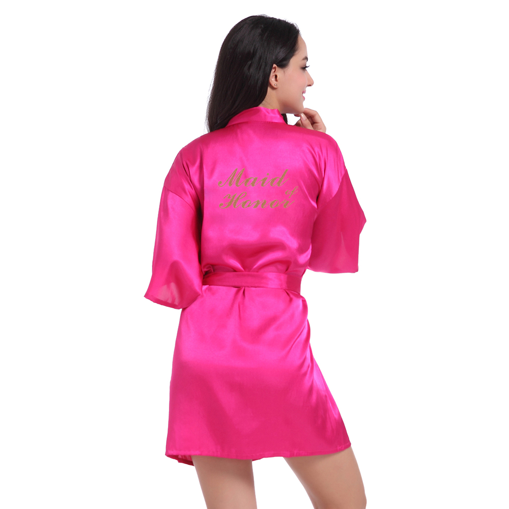Bridal Party Silk Kimono Robes – Purple Lotus Clothing 03c3e1588