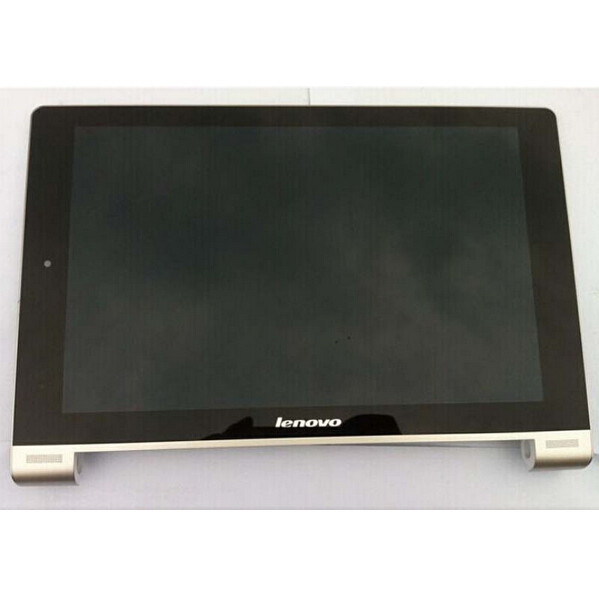 For Lenovo Yoga Tablet 10 B8000 B8000-H Full LCD Display Panel Touch Screen Digitizer Glass Assembly With Frame, free shipping vibe x2 lcd display touch screen panel with frame digitizer accessories for lenovo vibe x2 smartphone white free shipping track
