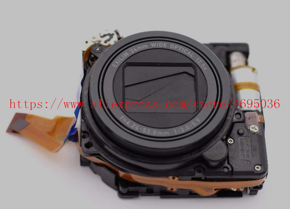 Lens Zoom Unit Repair Part For Casio EX- ZR100 ZR100 ZR200 ZR300 ZR350 H30 Camera No Ccd