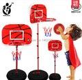 2015 бесплатная доставка Крытый и открытый спортивный 9 баскетбол железа рамка стрелялки рамка ребенок может поднять ребенка Большой баскетбол стойки игрушка