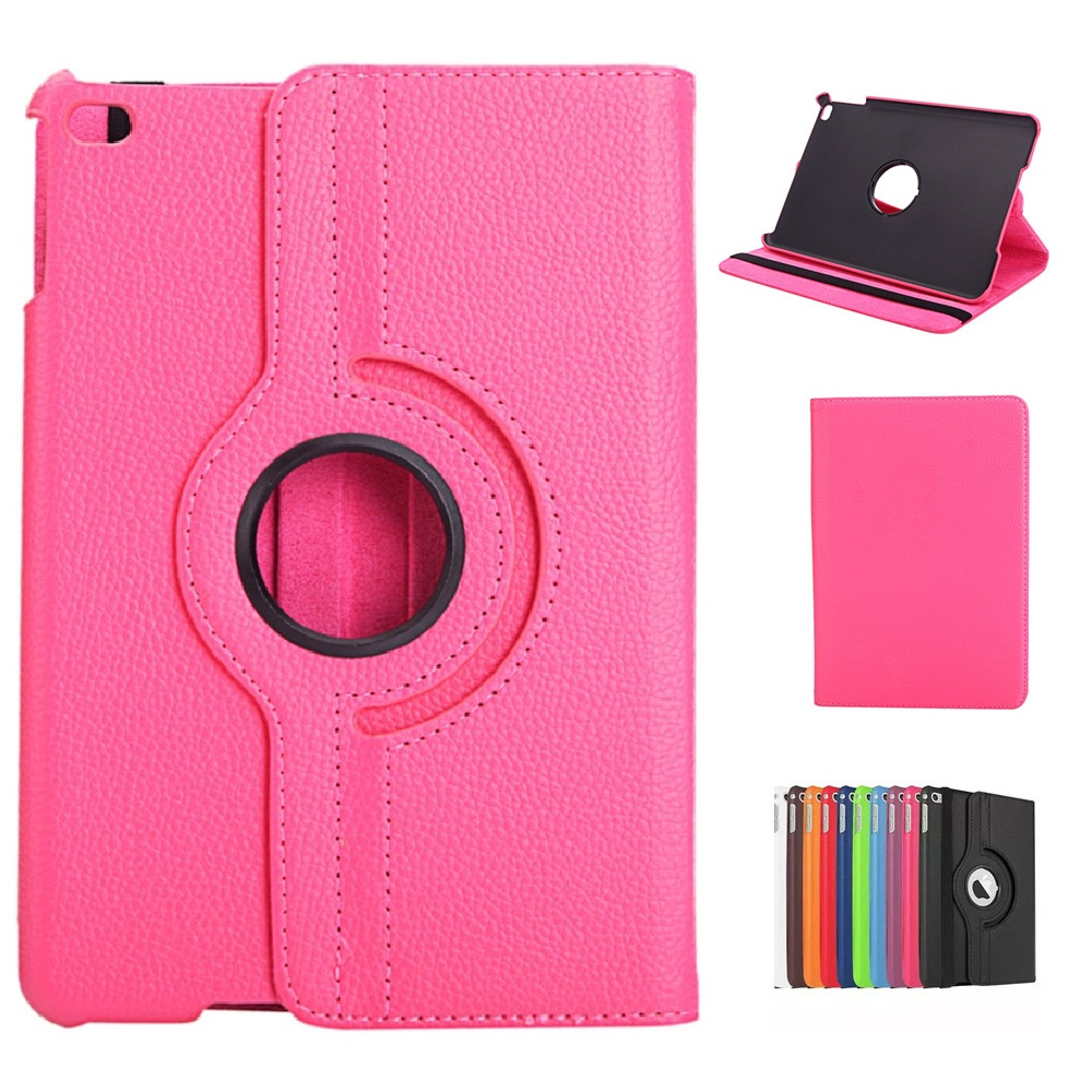 360 Degree Rotating Pu Case For iPad Mini 4