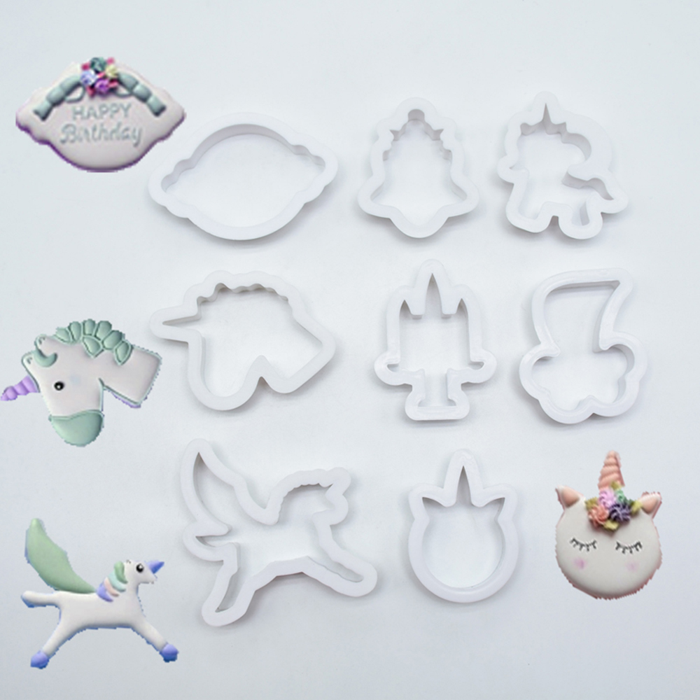 8Pcs-set-Unicorn-Horse-Cookies-Cutter-Mold-Cake-Decorating-Biscuit-Pastry-Baking-Mould-IC992843 (3)