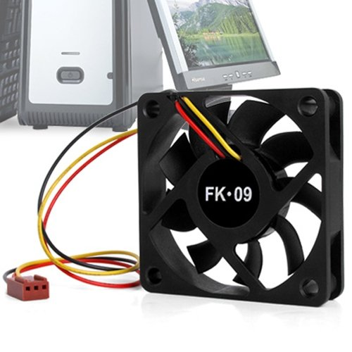 YOC-CPU <font><b>fan</b></font> radiator <font><b>fan</b></font> <font><b>60</b></font> x <font><b>60</b></font> <font><b>mm</b></font> Box Computer - Black image