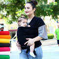 Breathable Baby Wrap Carrier Cotton Soft Comfortable Baby Wrap Baby Sling Carrier Hipseat Nursing Cover Canguru Backpack