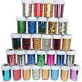 12 Colors Nail Art Transfer Foil Sticker Tips For Nail Tips Decoration Glitters Polish Glue Decorations Adhesive Wraps