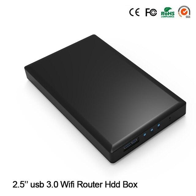 """¡ Nuevo Llegue! 1 TB 2.5 """"Sata HDD SSD Disco 5 GBPS USB 3.0 Capacidad de Lectura con Función WIfi Inalámbrico (1 TB Disco duro Incluido)"""