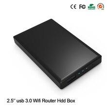 """Nowy Przyjeżdża! 1 TB 2.5 """"Dysk SSD Sata HDD 5 5GBPS USB 3.0 Pojemność z Wireless WIfi Funkcji Czytania (1 TB HDD Dysk W Zestawie)"""