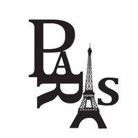 Nouveau Design Paris Tour Eiffel Sticker Hall D'entrée Stickers Muraux Décor À La Maison Décoratif Autocollants En Vinyle