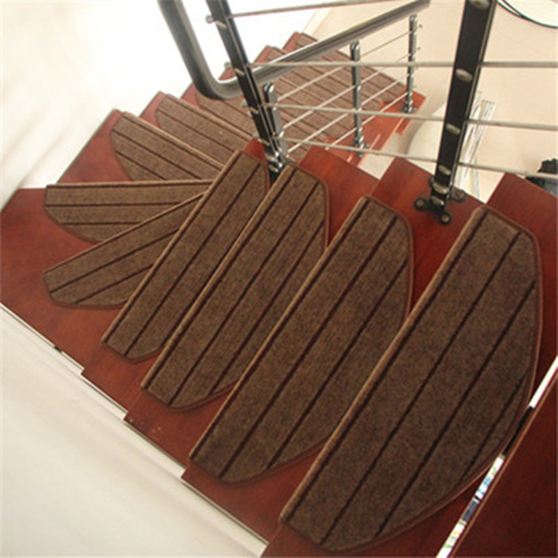 Slip Resistance Stair Stepping Pad Glue Free Kitchen Carpets Non Slip Floor  Mats Wood Stair Protective Rugs Bathroom Footcloth In Carpet From Home U0026  Garden ...