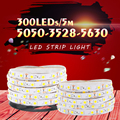 5630 3014 DC 12V 300LED 5M LED Strip 5050 RGB 3528 Not Waterproof LED Strip Light Neon Flexible iluminacion LED Light Lamp Tiras