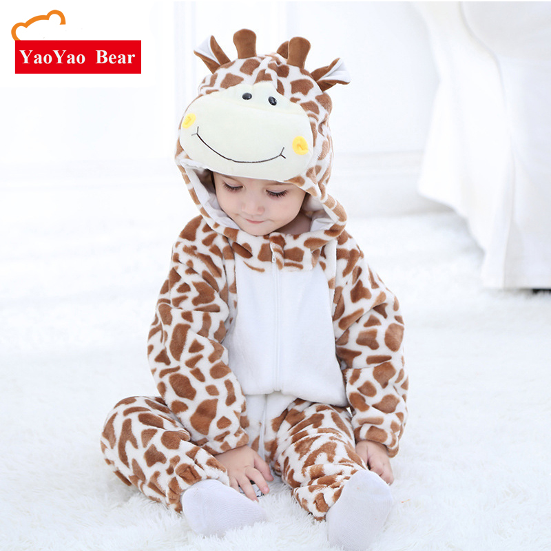 88cbca84f4ca 2018 Spring New Pattern Animal Costume Baby Clothes Girl newborn ...