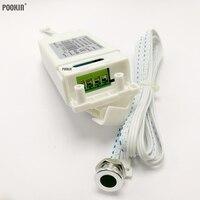 Patentado dos modelos IR interruptor Sensor de 500W AC85V-250V interruptor con Sensor infrarrojo Sensor de movimiento de Auto en/de lámparas 4-9CM