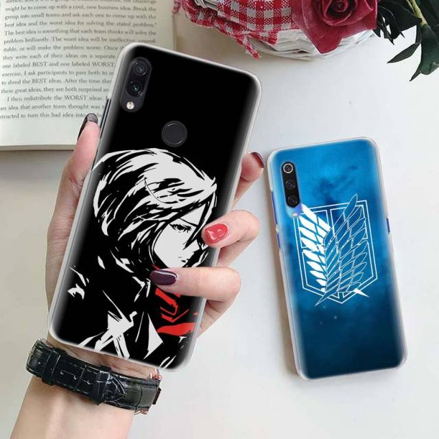 Attack On Titan Case Cover for Xiaomi Phones