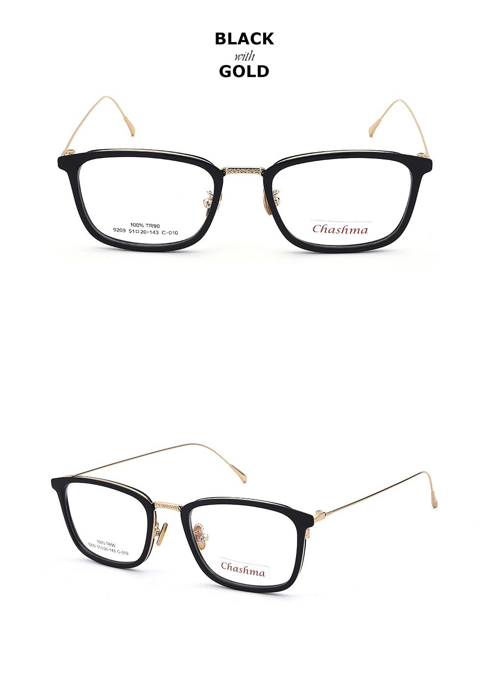 33b494ba40 Chashma Brand TR 90 Black Eyeglasses Style armacao para oculos de grau  feminino Women s Glasses Clear Lenses