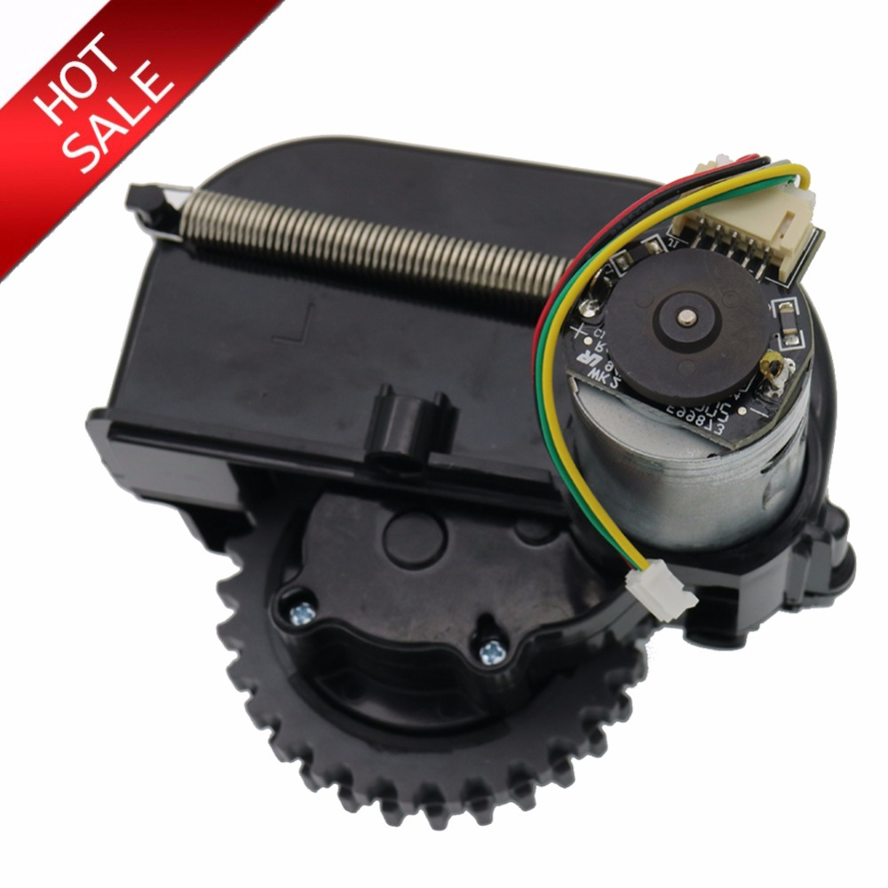 Originale sinistra ruota robot aspirapolvere Ricambi accessori per ilife V3 + V5 V3 X5 V5s robot Aspirapolvere ruote motori