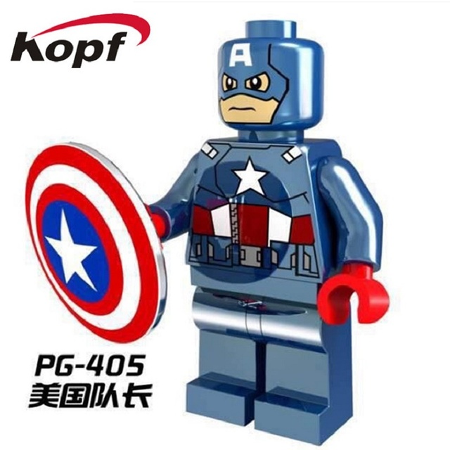 bcdb8578bc1 Pg405 CHROM Capitán América Sr. oro Spiderman Darth Vader Hombre de Hierro  Super Heroes Custom