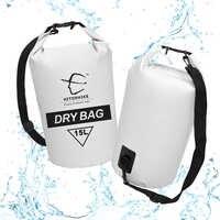 Hitorhike Ultralight Swimming Bag Dry 4 Colors Outdoor Nylon Kayaking Storage Drifting Waterproof Rafting Bag 15L New 2018