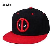 Anime deadpool gorra de béisbol del sombrero del snapback hombres mujeres  hip hop snapback ajustable sombrero del casquillo del . 6beb8b9f73a