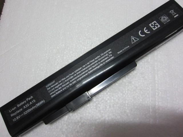 Notebook batería forDNS 142750/153734/157296/157908/158636 Gigabyte Q2532N A32-A15; 40036064; A42-A15