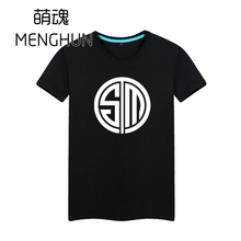 LOL professional team NA LCS region TSM logo printing t shirts fans game gift  ac792