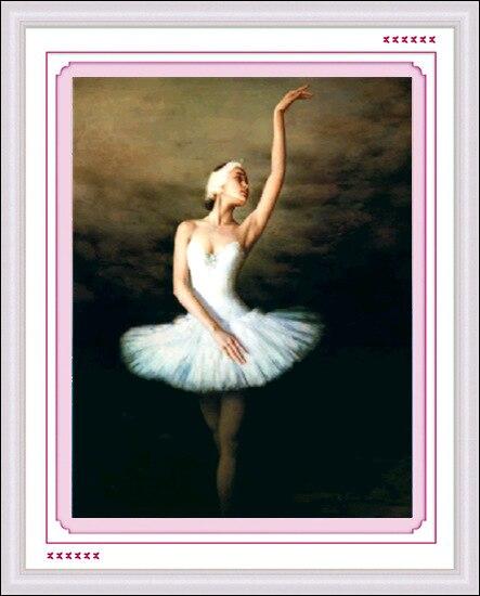 75f3a9b1bd Diy bailarina romance mosaico costura diamante pintura completa rhinestone  pegado de punto de cruz bordado lleno