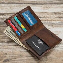 Mitao Fabrik Leder Reisepass Fall Brieftasche mit kreditkarte slots casual stil passport abdeckung leder 6 farbe Freies verschiffen