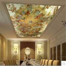 beibehang Custom photo wallpaper Zenith ceiling fresco ceiling painting modern European hotel KTV 3d wall mural wallpaper