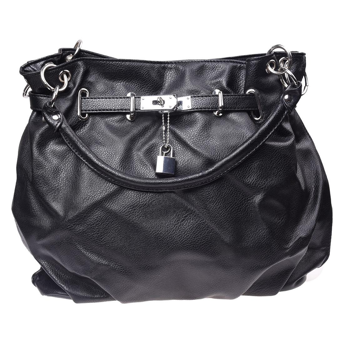 5 X SNNY Girls PU Leather Hobo Handbag Bag Tote Shoulder Cross Body Black ingersoll i01002