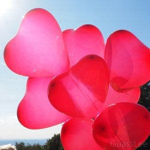 "Image 2 - 50pcs/lot 36"" Giant Latex Balloons Heart shaped Helium Balloon Wedding Birthday Party Decoration Balls Gifts Toys Globos Balony"