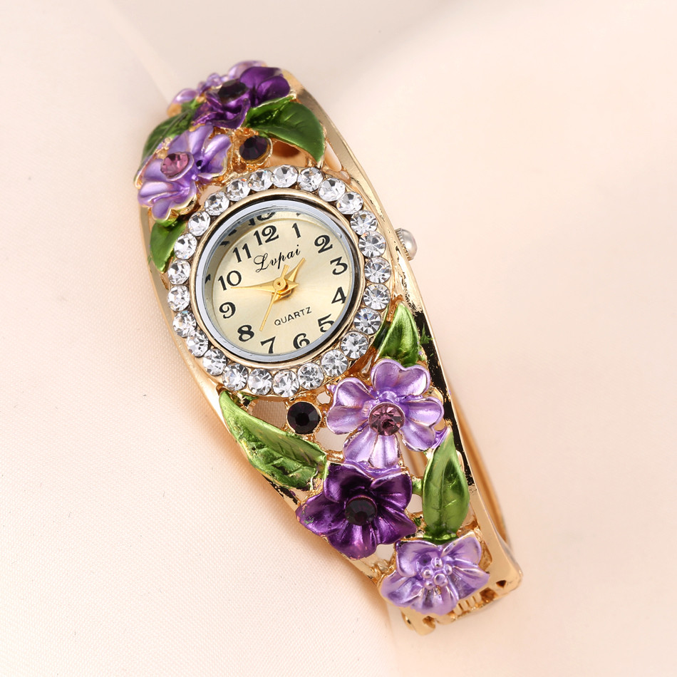 LVPAI Modern Fashion Hot Sale Fashion Luxury Luxurious Design Women's Watches Women Bracelet Watch YY19
