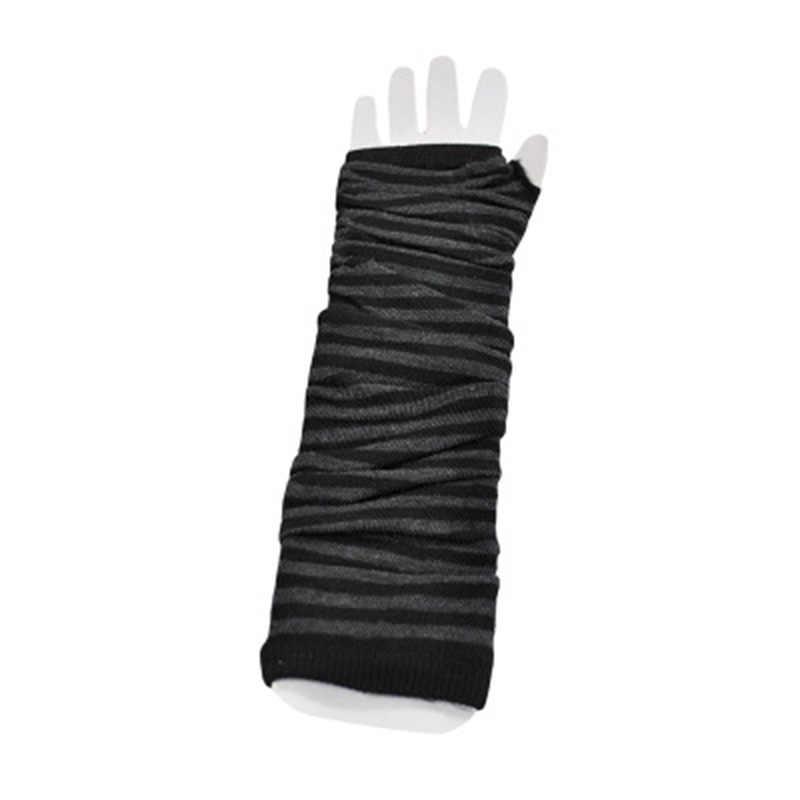 Yüksek kaliteli kadın eldiven şık el ısıtıcı kış eldiven kadın kol uzun örgü Mitten sıcak parmaksız eldiven ücretsiz kargo
