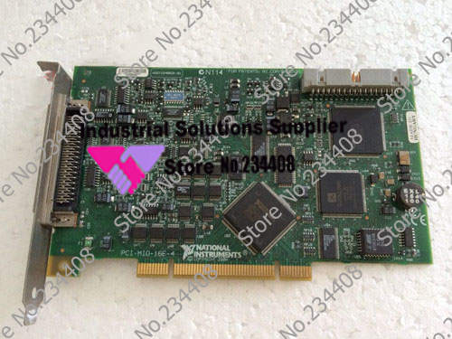 Original NI PCI-MIO-16E-4 industrial motherboard card 100% tested perfect quality original ni pci 6013 selling with good quality and professional