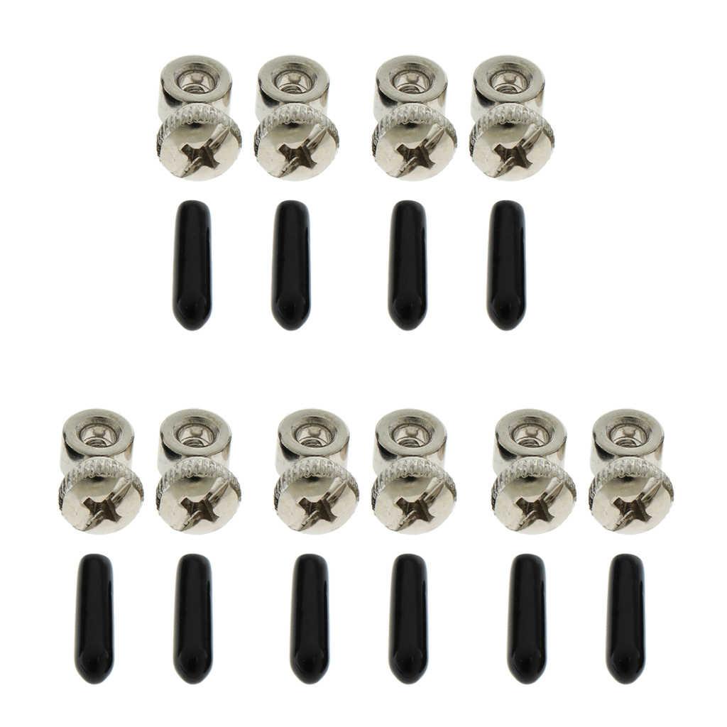 5 は、調整可能な鋼 PVC スペア速度ジャンプロープネジスキップロープケーブルコードエンドキャップ部品部品フィットネス機器