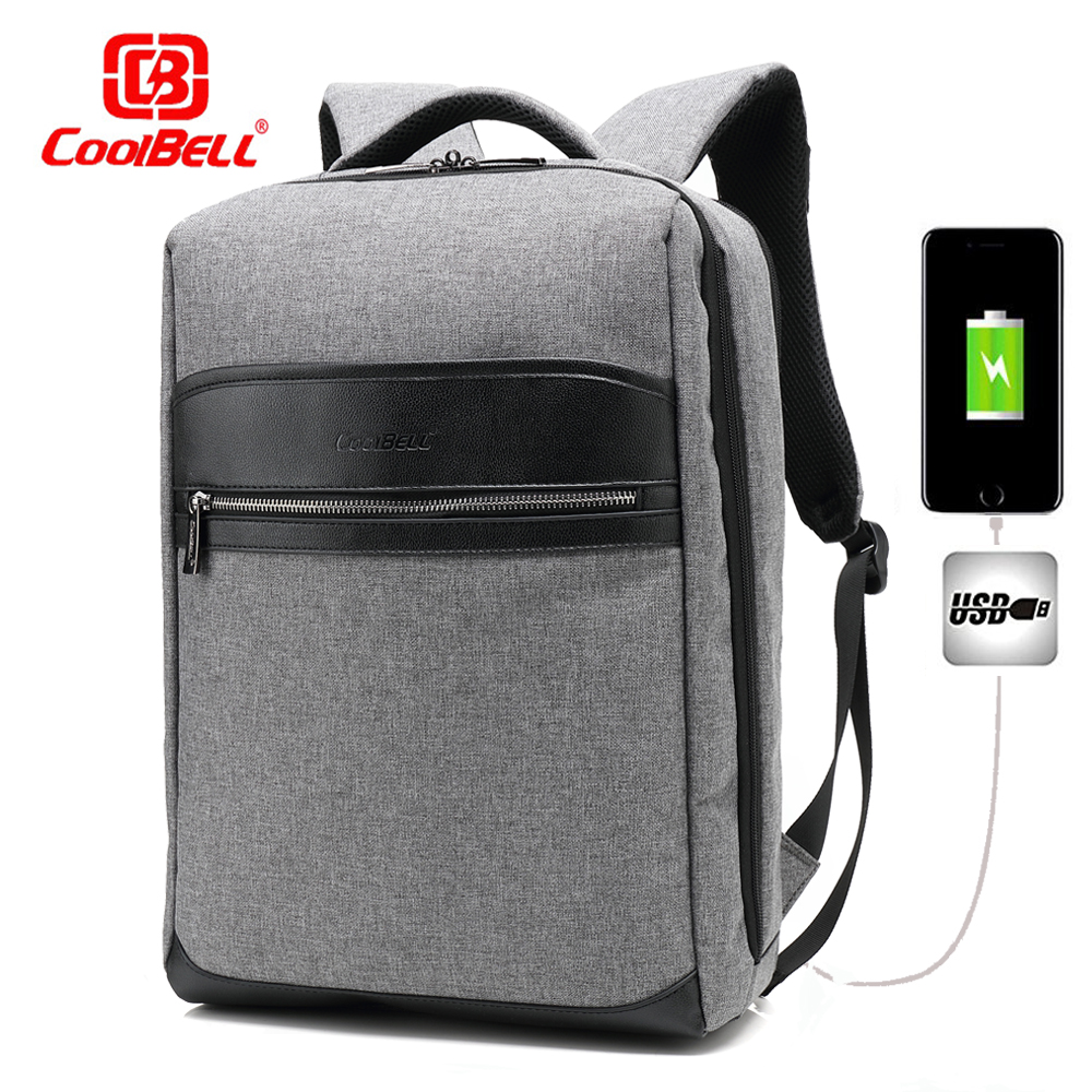2018 Hot Sale Multi-function Waterproof External USB Charge 15.6 inch Laptop Bag women Men Backpack Anti-thief Mochila Escolar