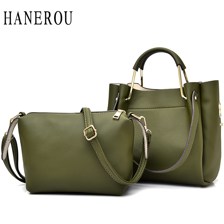 ФОТО 2017 Fashion Solid Composite Bag Luxury Handbags Women Bags Designer Big Capacity Lady Shoulder Bags Famous Brand Bolsa Feminina