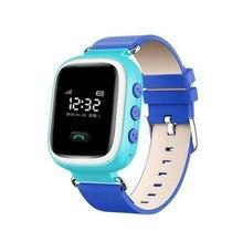 Sichere Anti Verloren Monitor Baby Geschenk Q60 Kinder Smart Uhr Sim Karte GPS Tracker Für Kinder SOS Smartwatch Android IOS