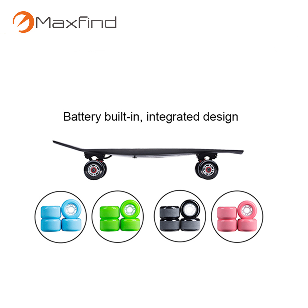 Maxfind newest controller carbon fiber 4 hub motor wheels electric scooter for kids