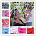 Newborn headband and Mom Topknot Headwrap set , Cotton Mommy and me headband set ,baby bow hair accessories photo prop