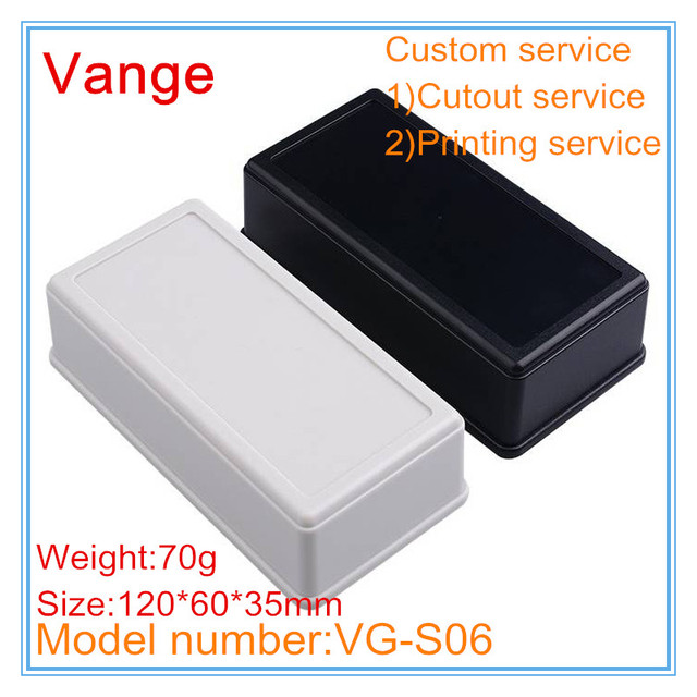 US $5 21 5% OFF|2pcs/lot injection mold making IP54 DIY ABS plastic  enclosure box 120*60*35mm for electronic project-in Wire Junction Boxes  from Home