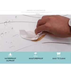 Image 5 - 3 m x 0.6 m 광택 벽지 가구 스티커 캐비닛 옷장 장식 pvc 벽 스티커 방수 자기 접착제 벽지