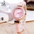 Shengke браслет женские часы для леди модное платье Браслеты Очаровательная цепь Стиль Часы женские кварцевые женское платье часы 2018