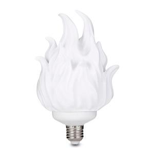 Image 3 - 3D Printing LED Flame Effect Light Bulb Fire Flickering Emulation Decor Lamp E27 LED Flame Effect Fire Light Bulbs For Bedroom