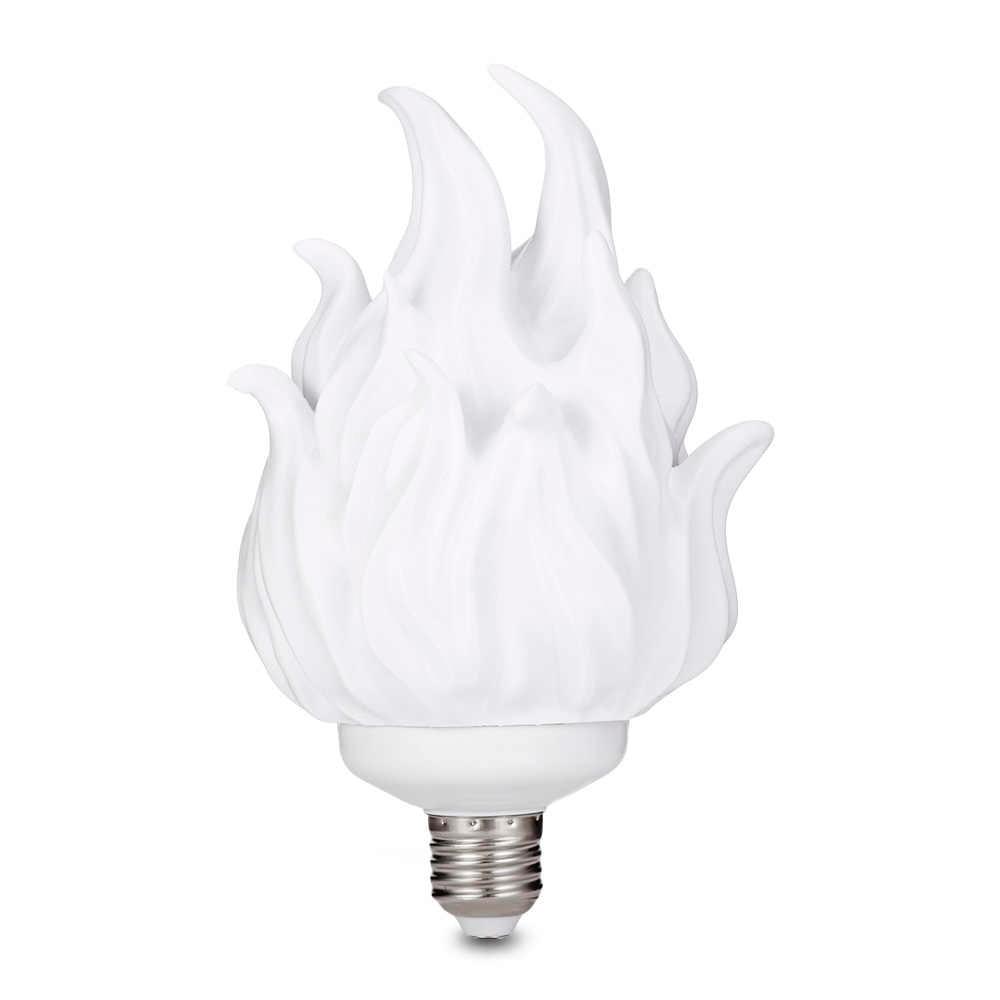 Mes Ampoules Led Scintillent impression 3d led effet de flamme ampoule feu scintillement scintillement  émulation décoration lampe e27 led effet de flamme feu lumière ampoule