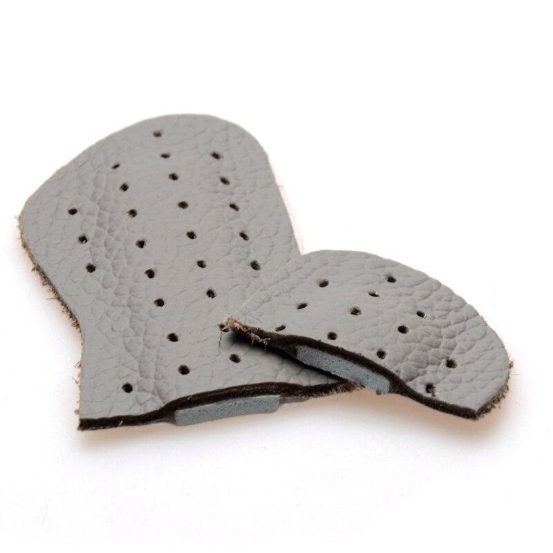 Купить с кэшбэком 1 Pair Genuine Leather Gel Silicone Shoes Pad Insoles Women's High Heel Cushion Care Pads Foot Wear Heel Pad Cushion Foot Wear